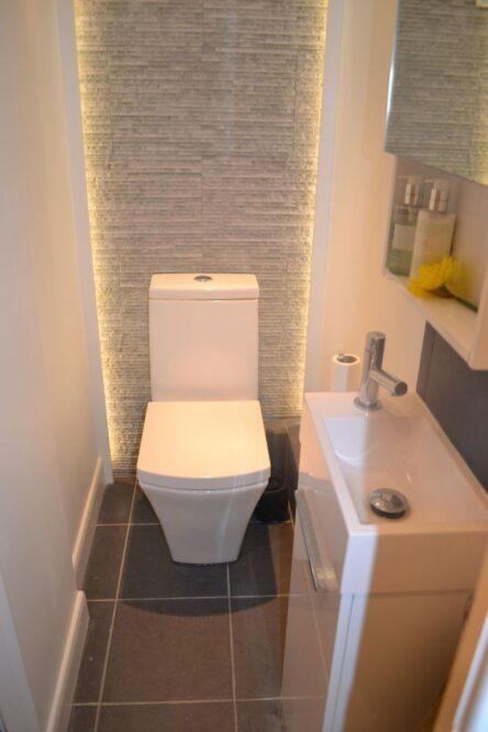 туалет красивый ремонт