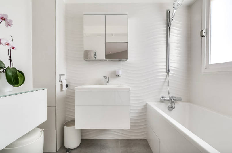 ремонт в ванной совмещенной с туалетом фото