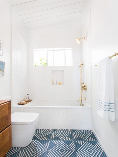 фото ванной совмещенной с туалетом