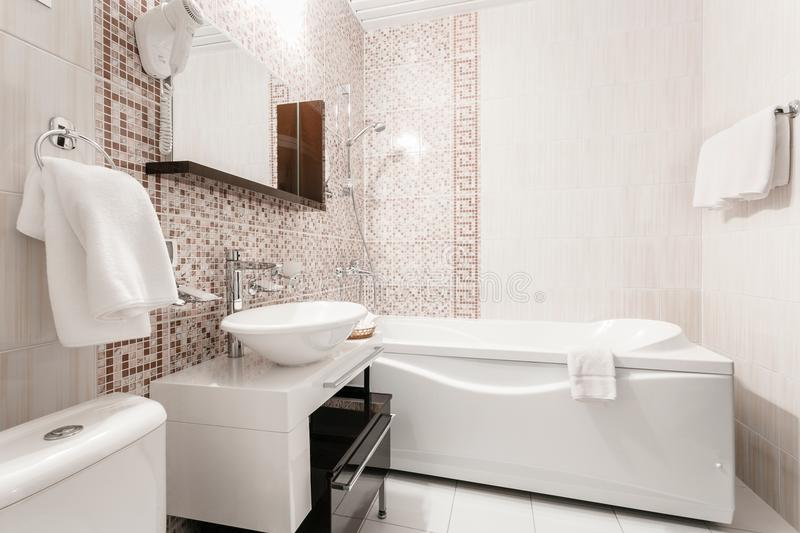 ванная в стиле мозаики