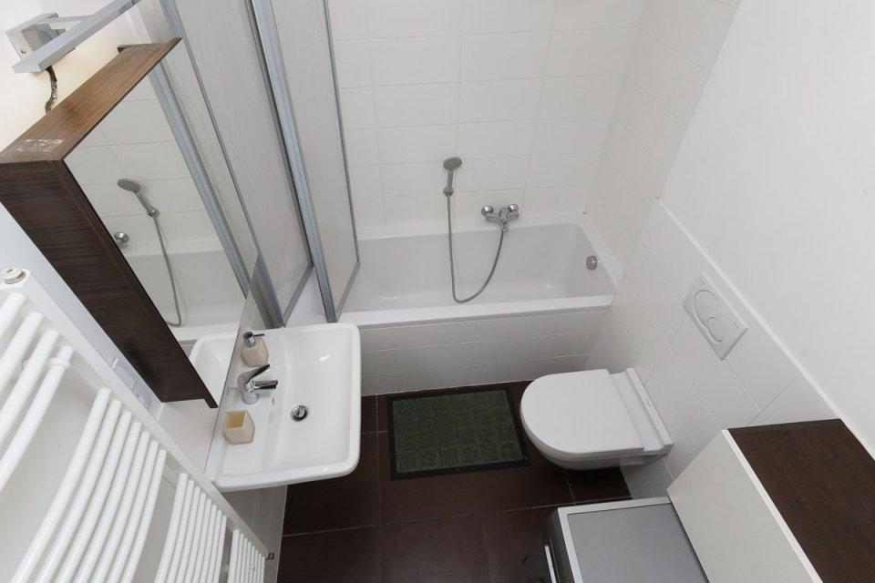 ванная комната с туалетом 4 кв м