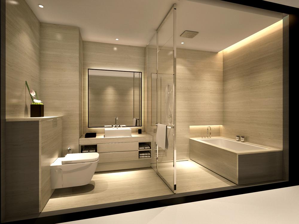 ванная просто и со вкусом