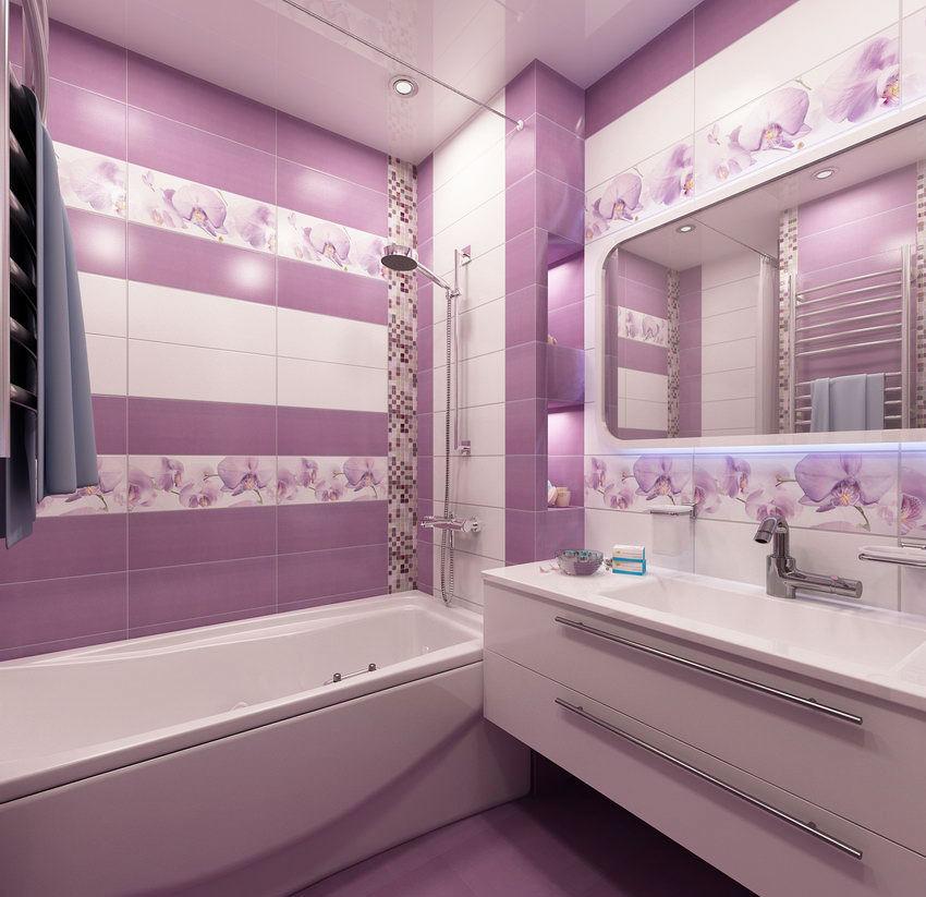 дизайн современной ванной комнаты 4 кв м