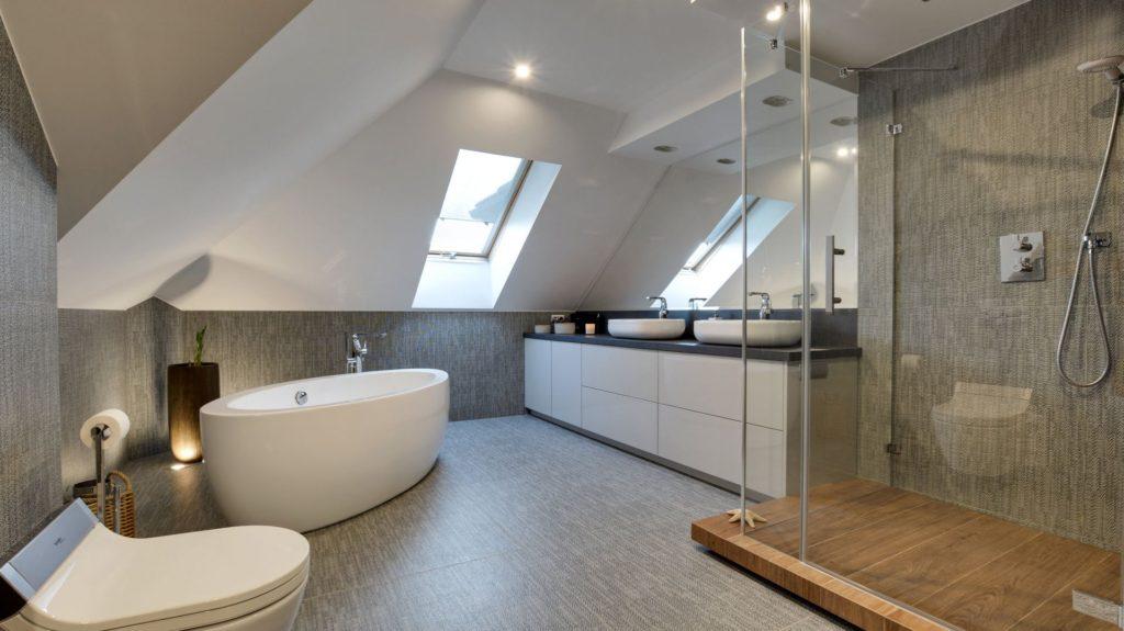 плитка ванная мансарда