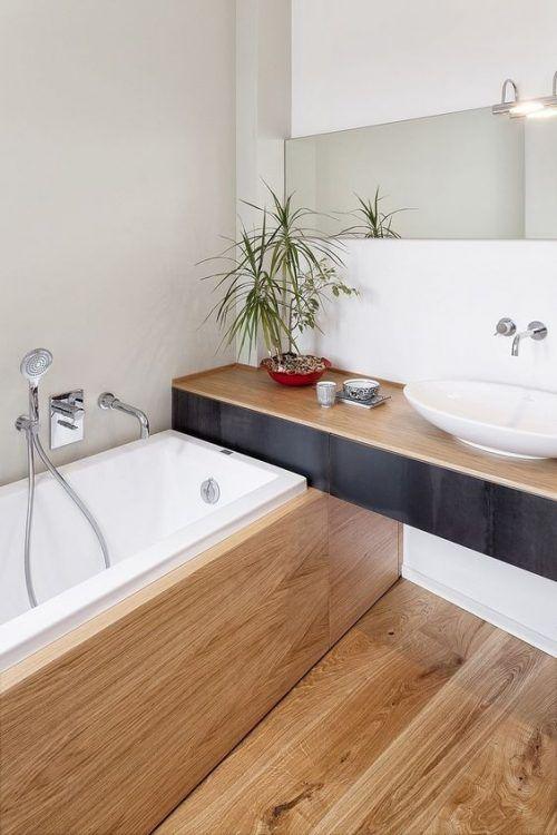дизайн ванной без плитки