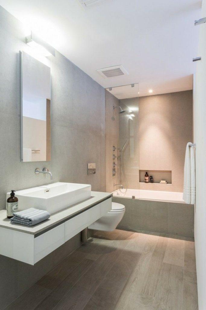 ремонт в ванной без плитки
