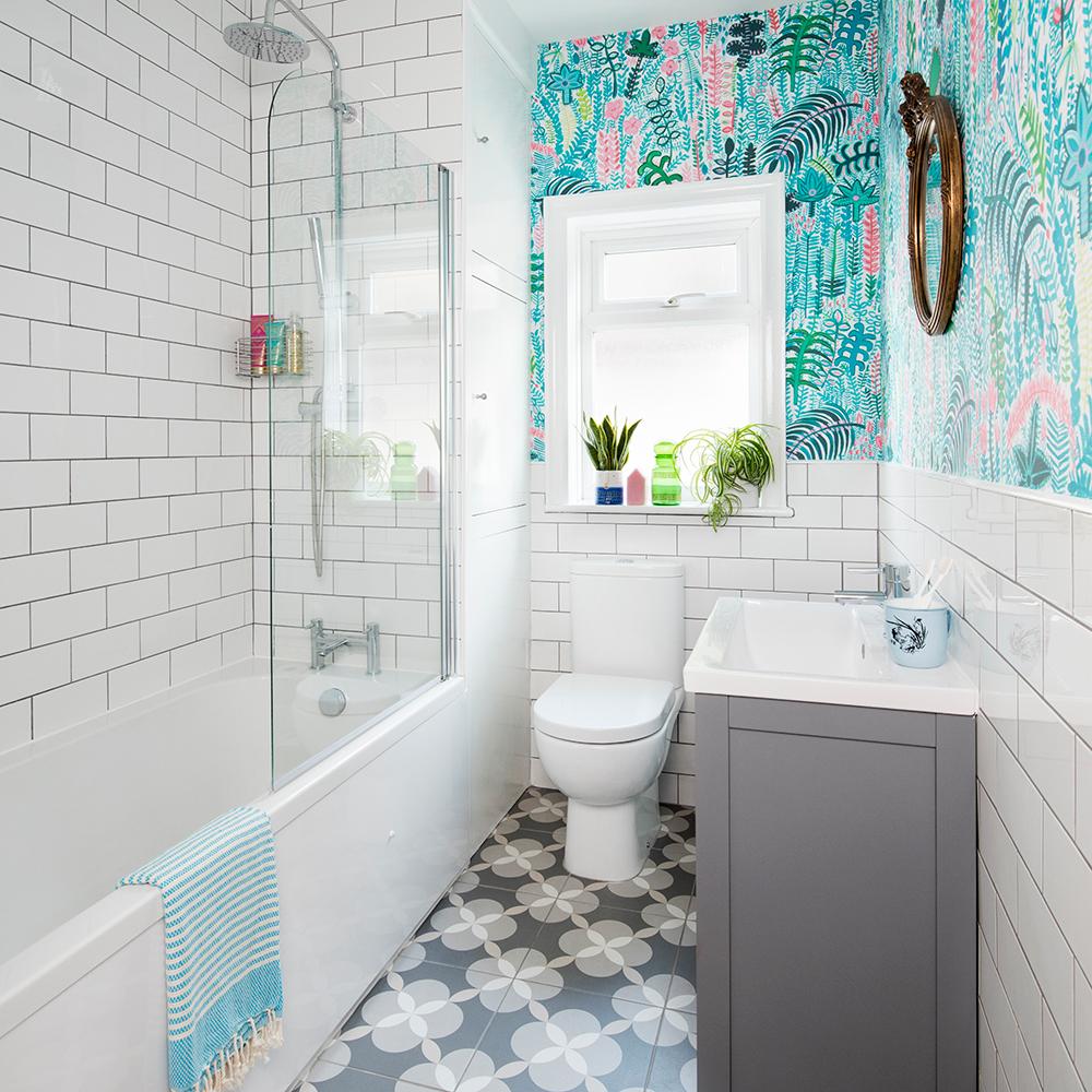 дизайн ванной комнаты без плитки
