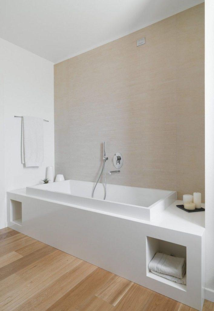 отделка ванной без плитки