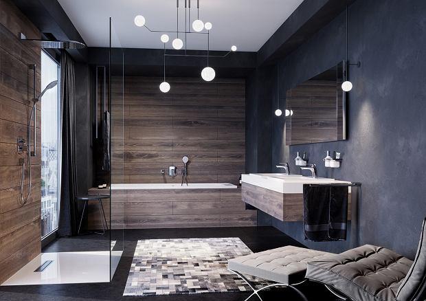 интерьер больших ванных комнат фото