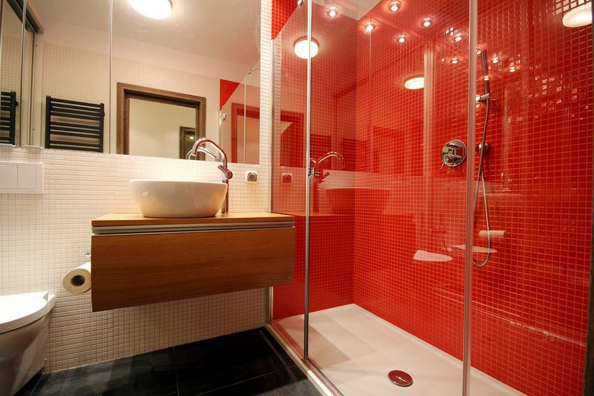 ванна душ без поддона