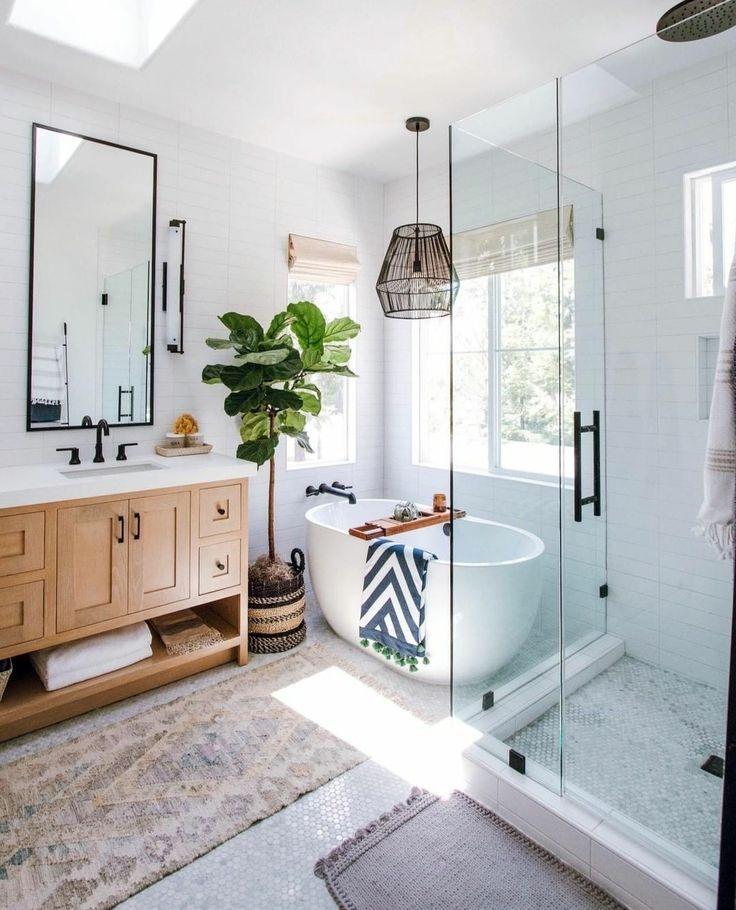 скандинавский дизайн ванной