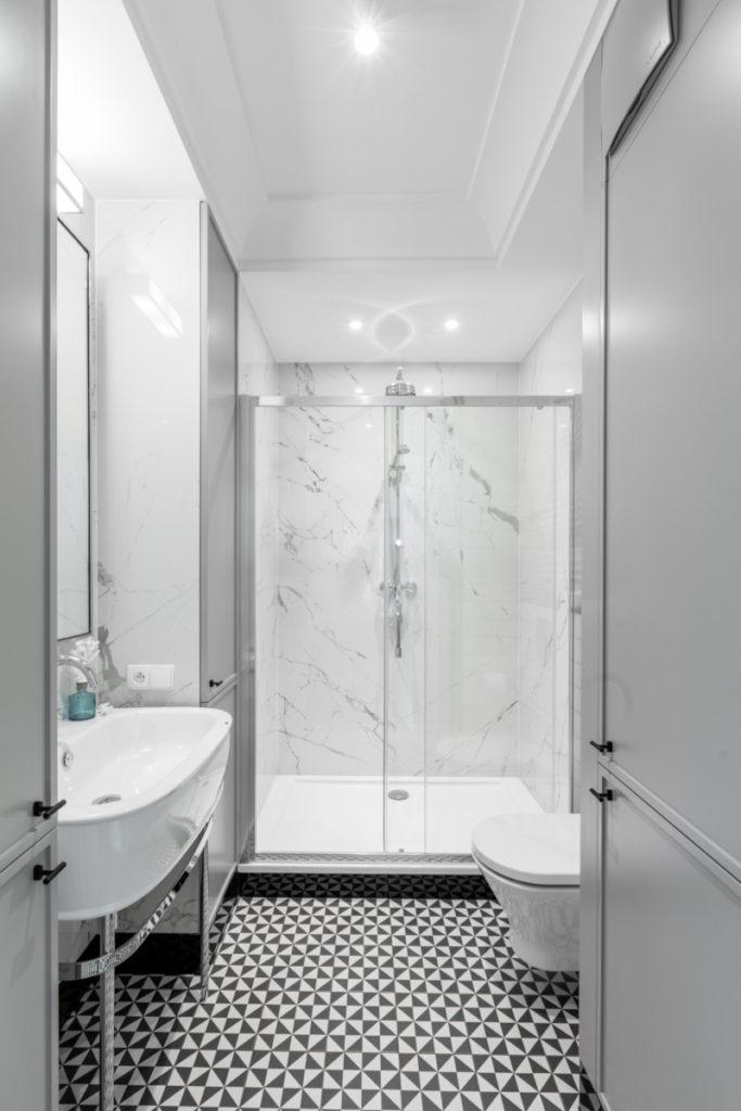 как сделать душ без поддона