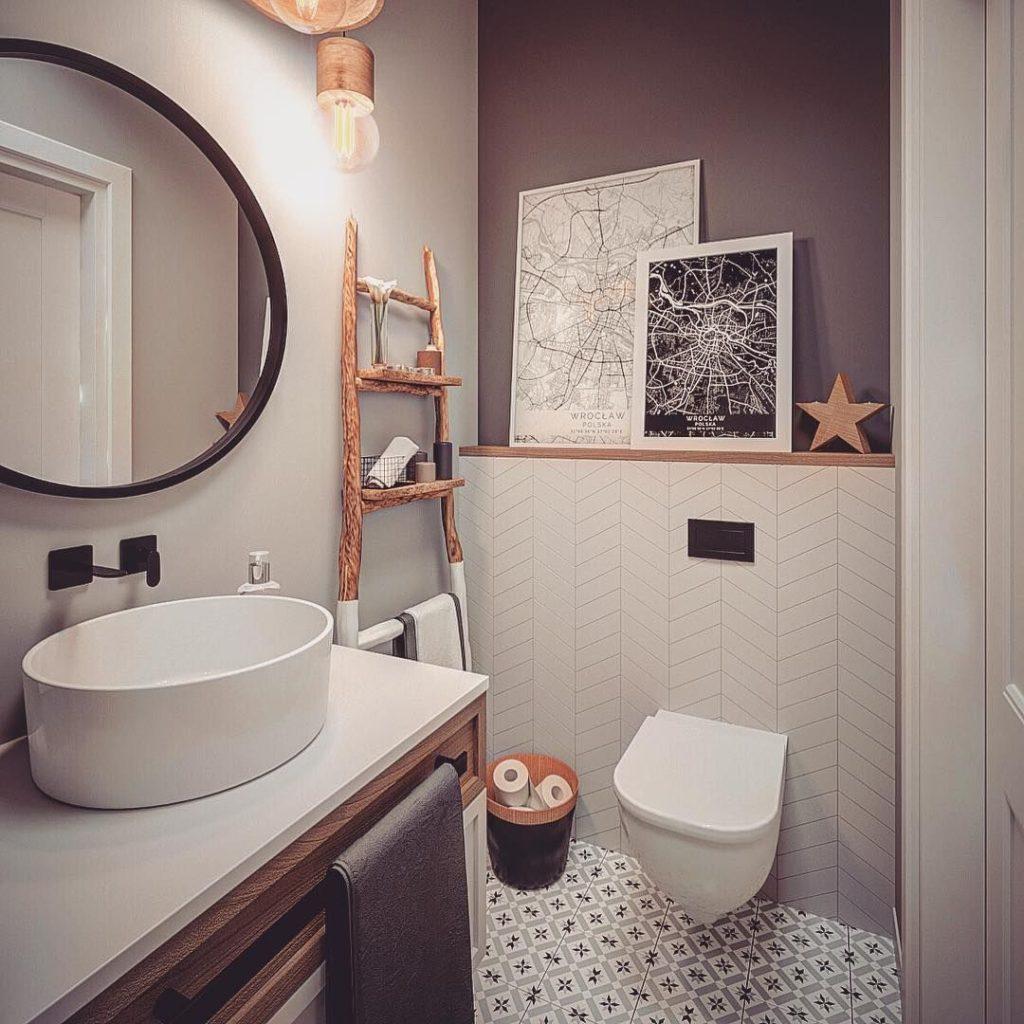 современные идеи ванной комнаты