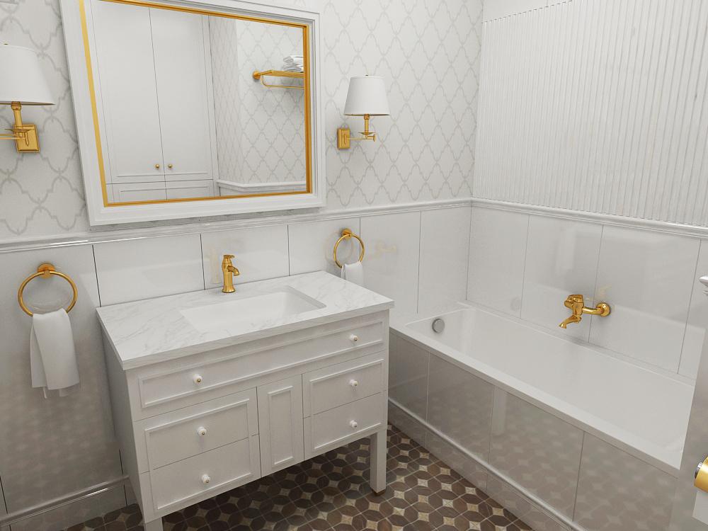 плитка в ванной комнате фото в современном