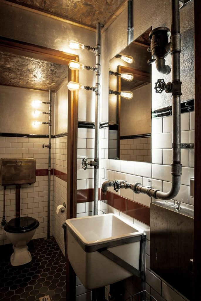 ванная под лофт
