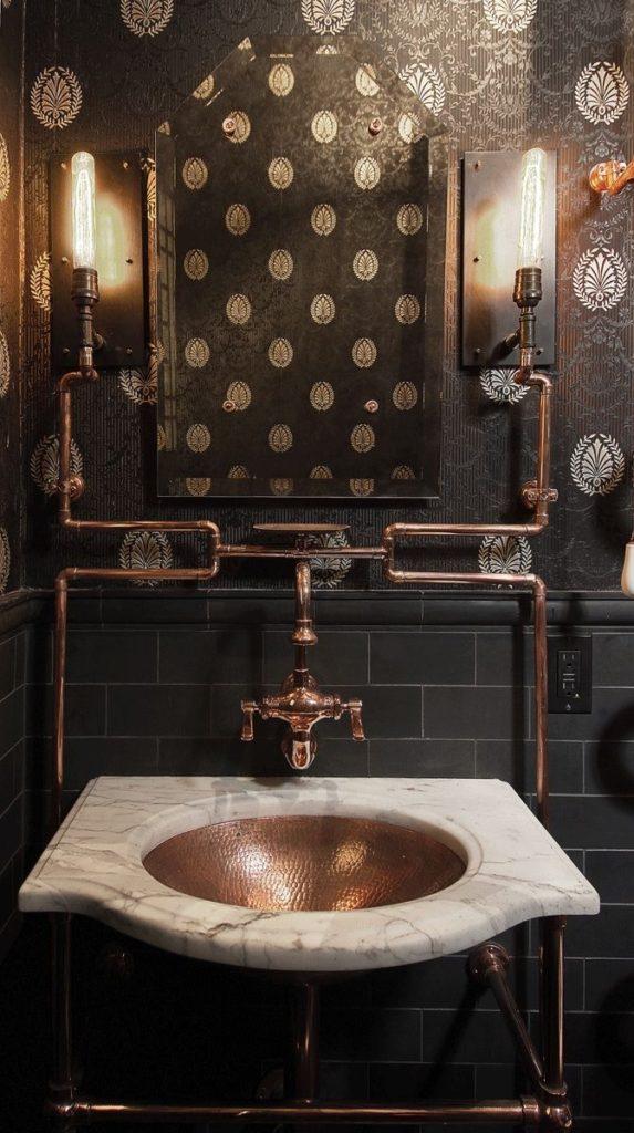 ремонт ванной лофт