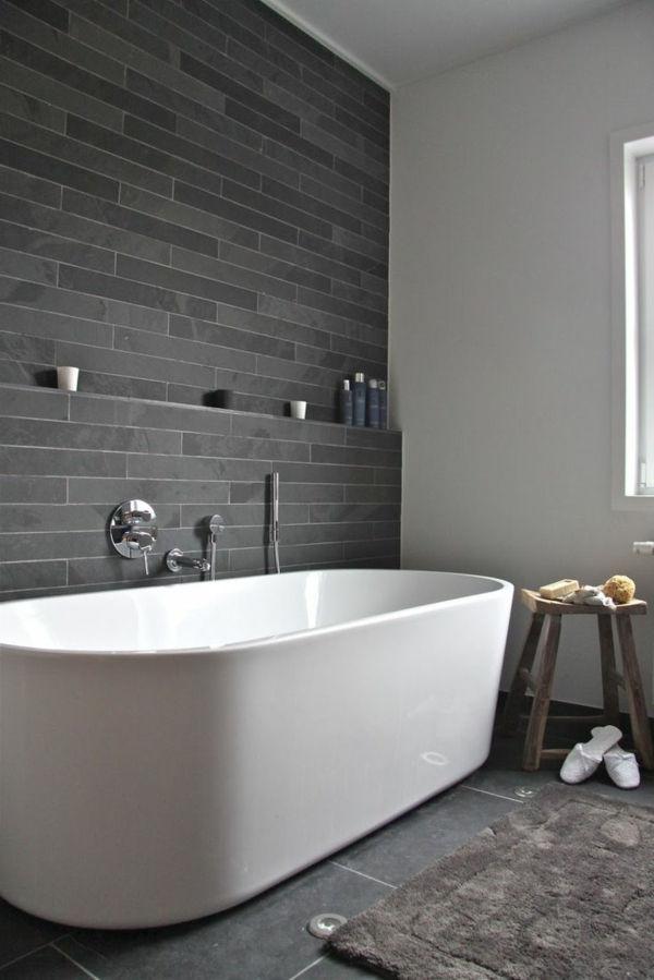 дизайн ванной комнаты черном цвете