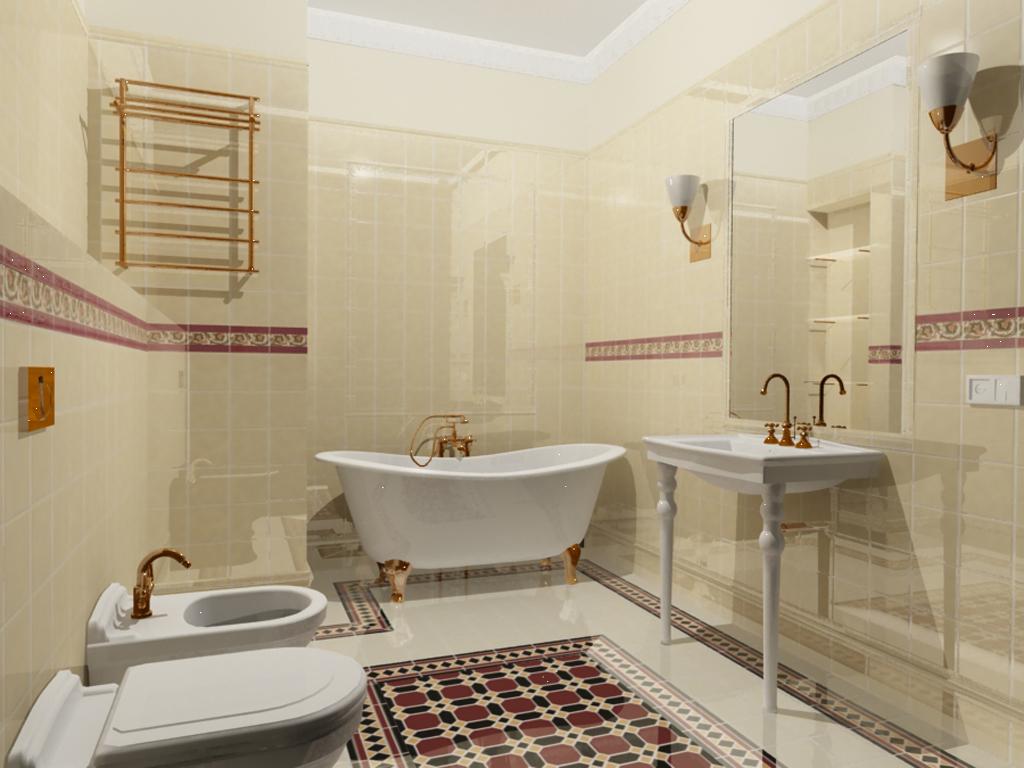 ремонт квадратной ванной комнаты