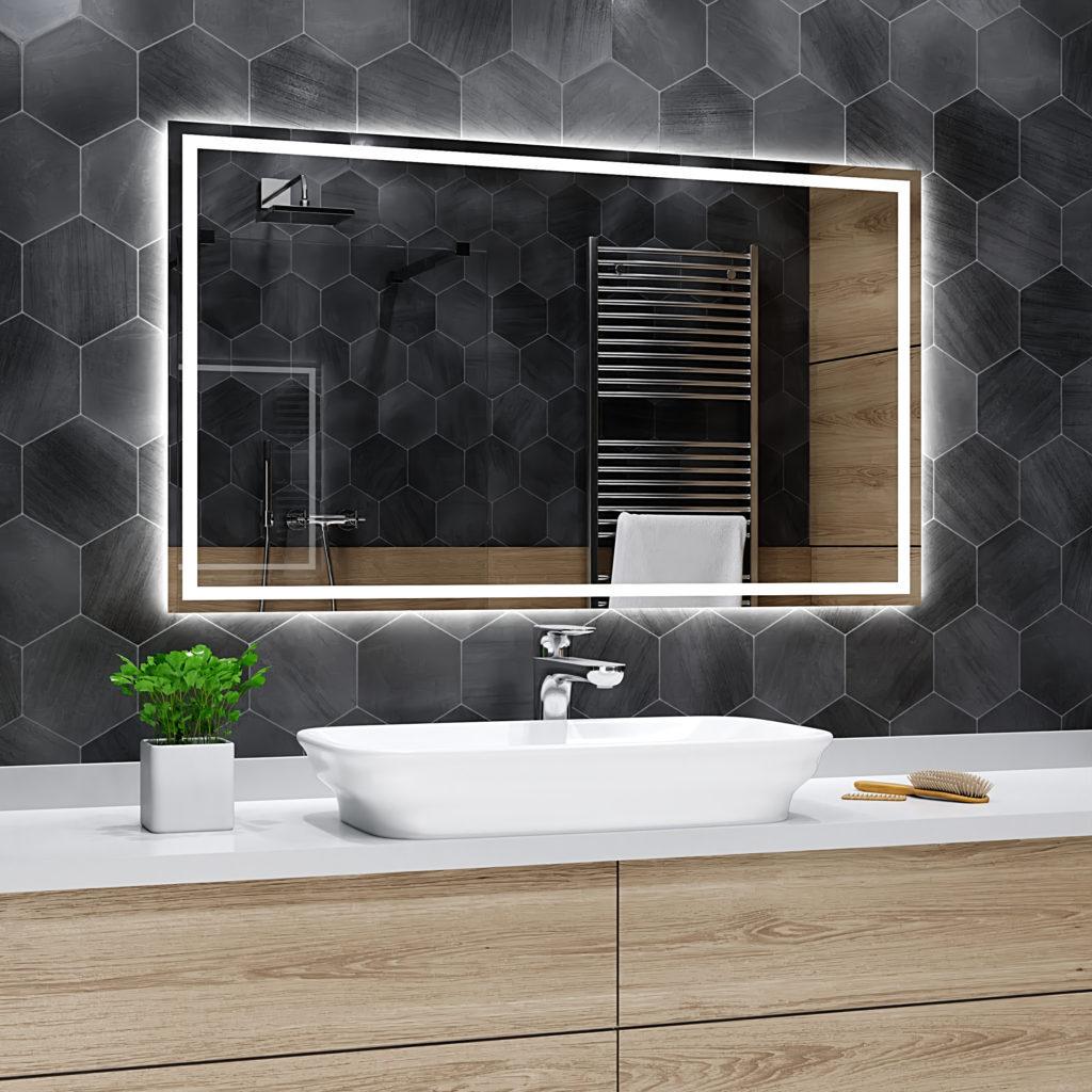 какое зеркало вешают ванной над ванной