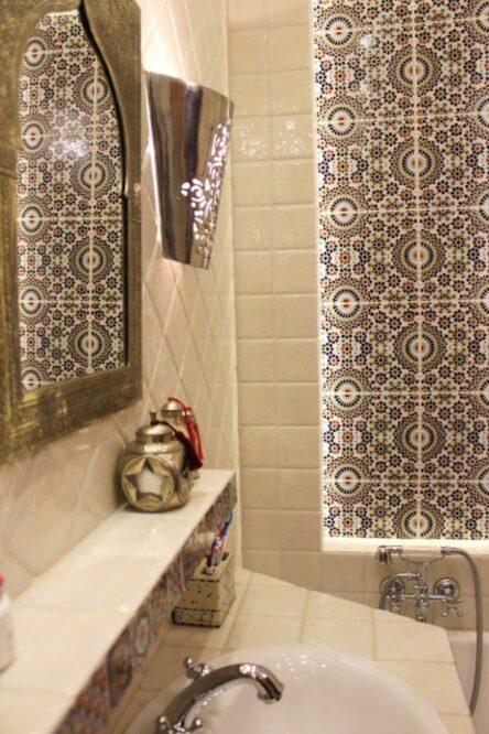 плитка с марокканским орнаментом