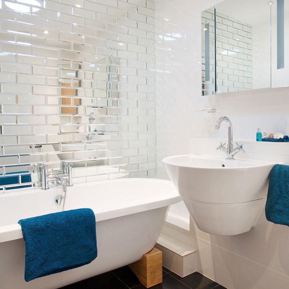 ванная комната в маленькой квартире