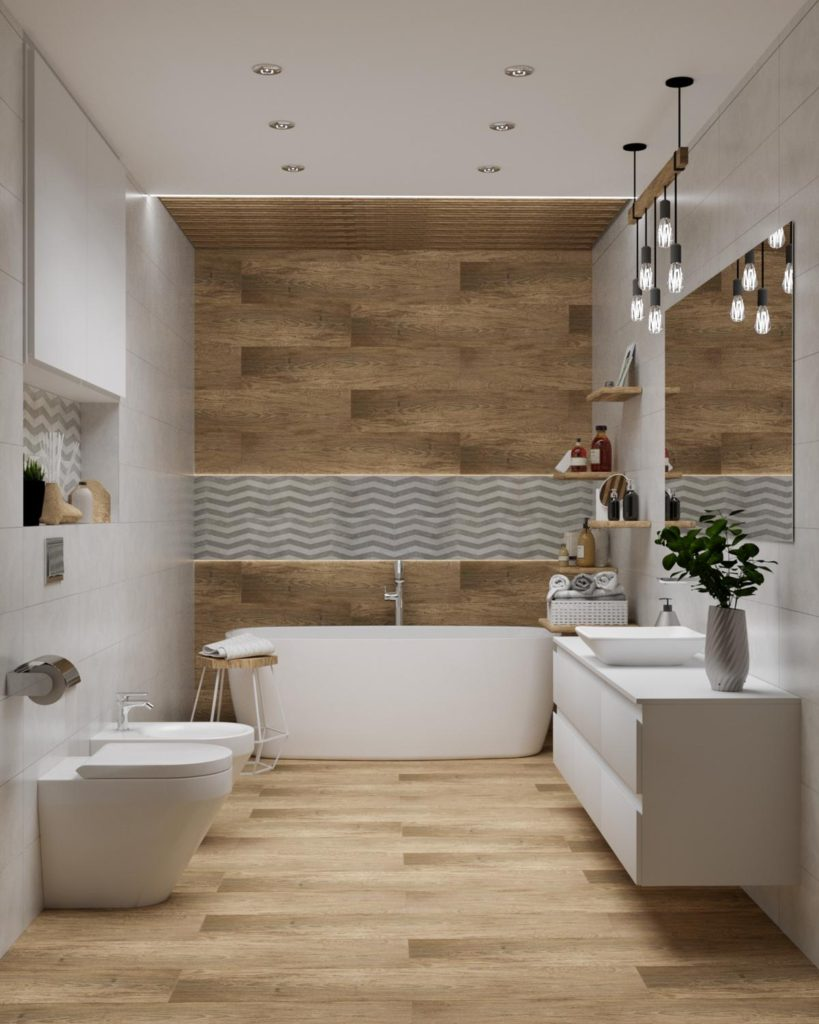ванный стена фото