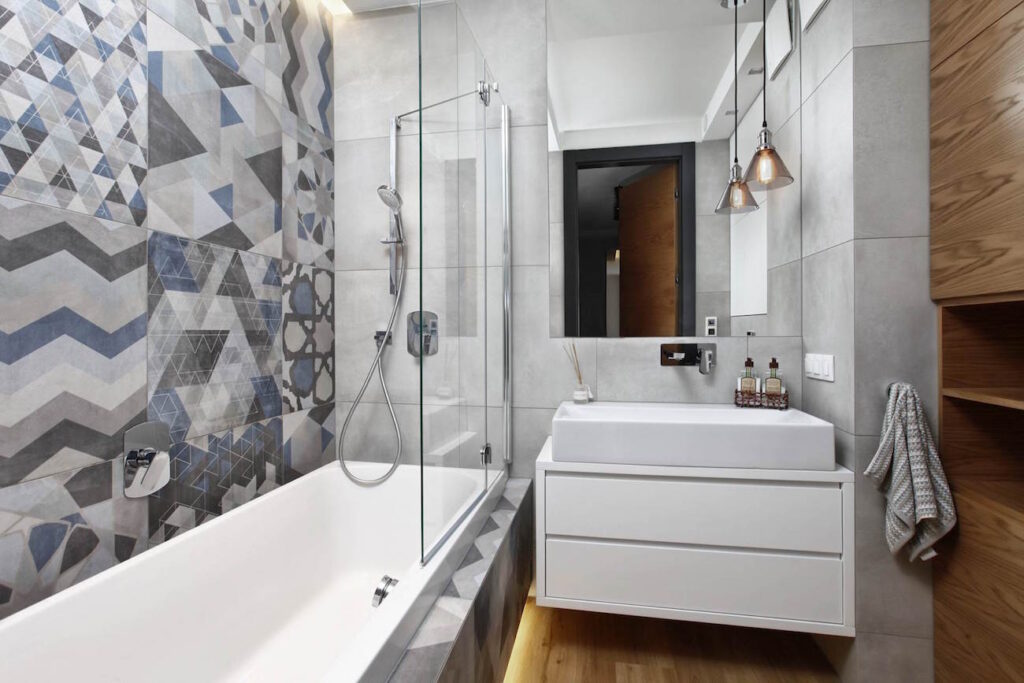 фото планировки ванной комнаты