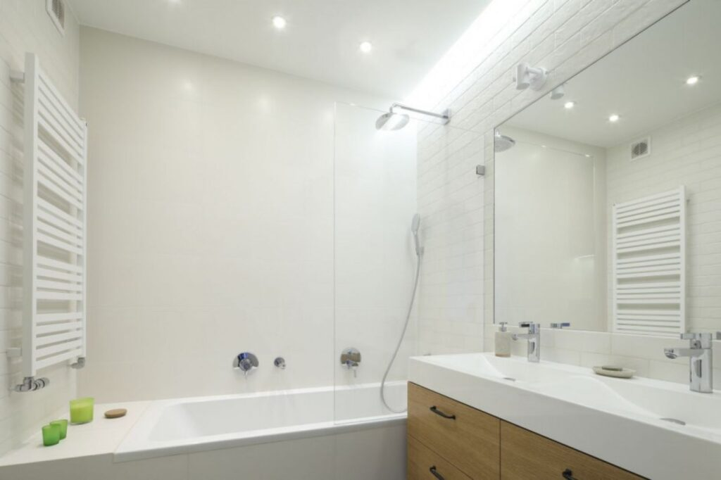 светильники в ванну комнату