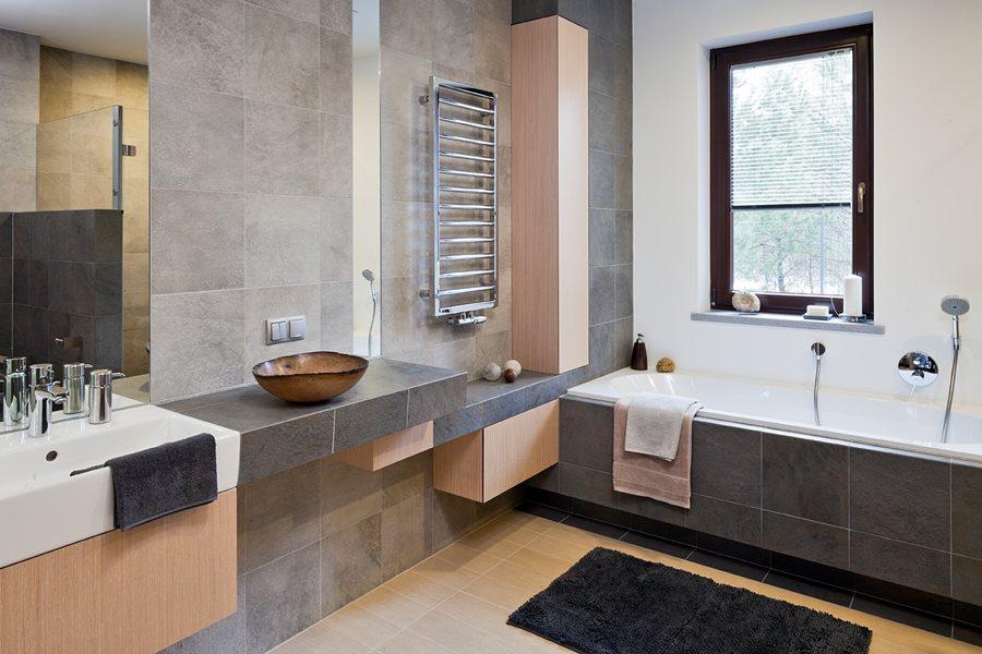 модный дизайн маленьких ванных комнат