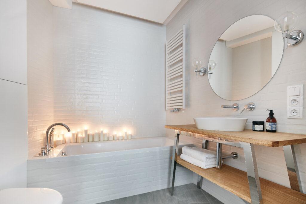 планировка совмещенной ванной