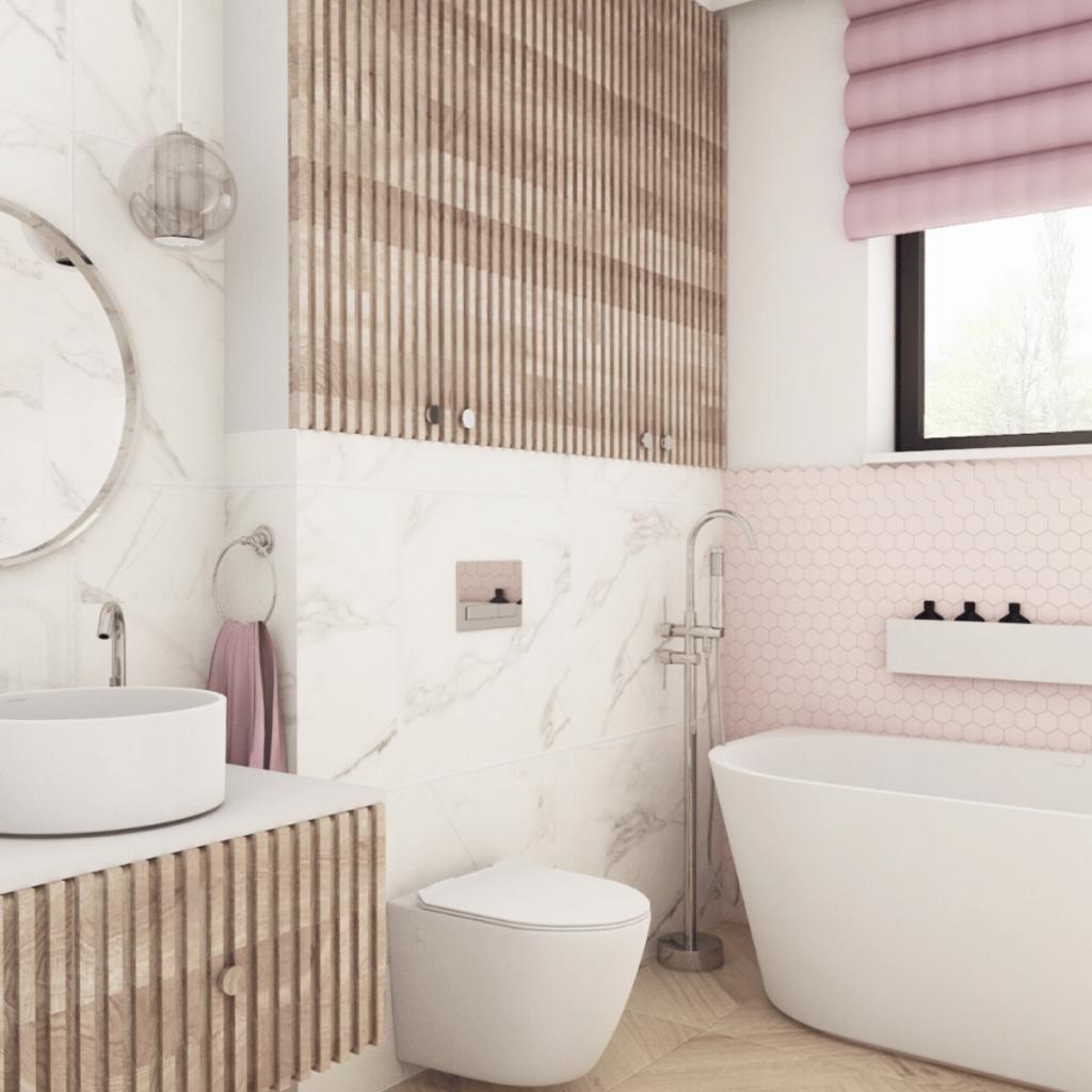 модный дизайн ванной