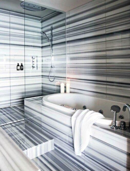 ремонт ванной мрамор