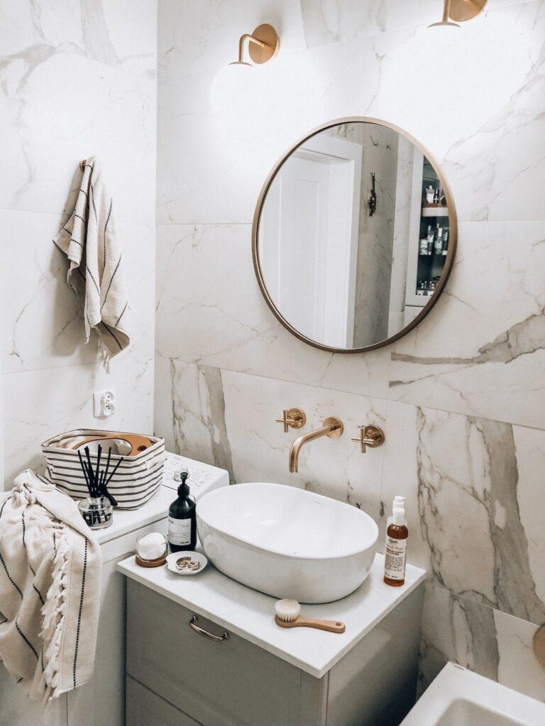 модный кафель ванной
