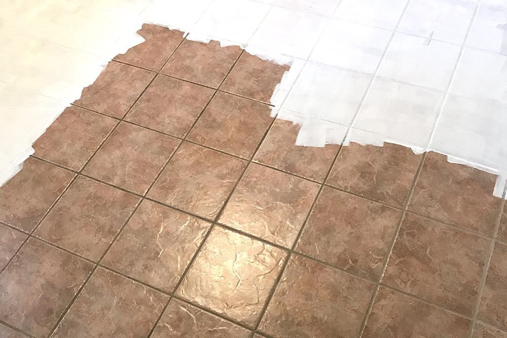 покрасить плитку водоэмульсионной краской