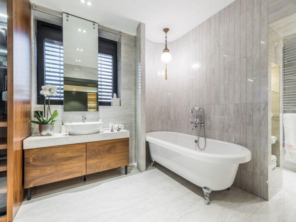 фото модной ванной