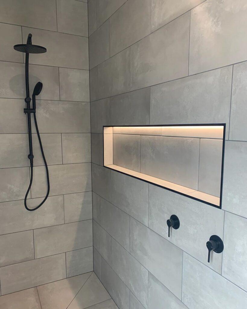 как сделать светодиодную подсветку в ванной