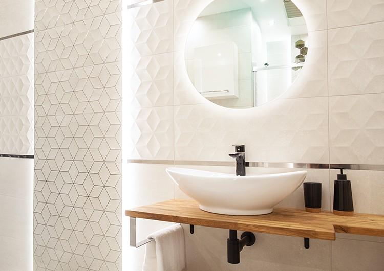 зеркало в ванную со светодиодной подсветкой
