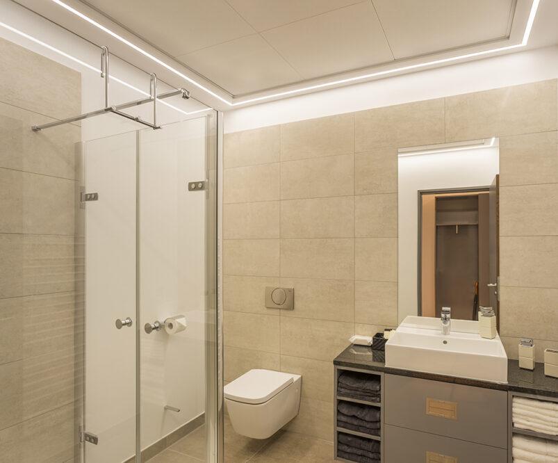 встроенные потолочные светодиодные светильники для ванной