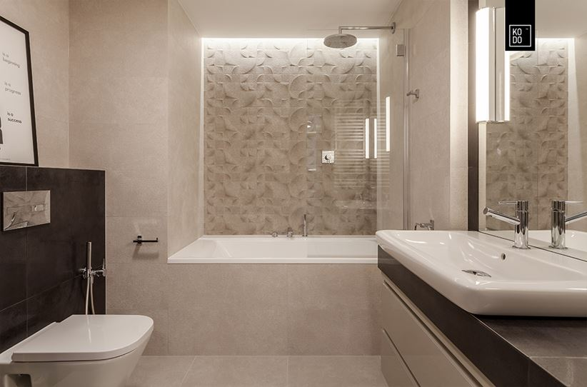 светодиодная лента в ванной