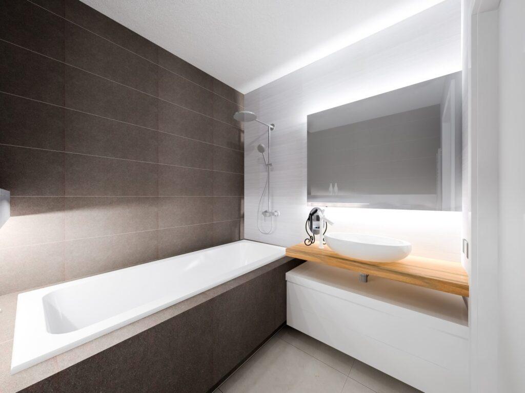 нестандартная мебель для ванной