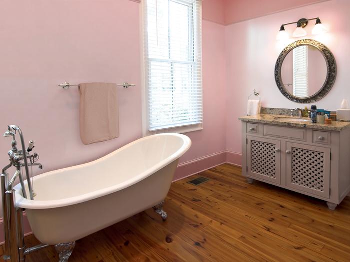 дизайн ванной покраска