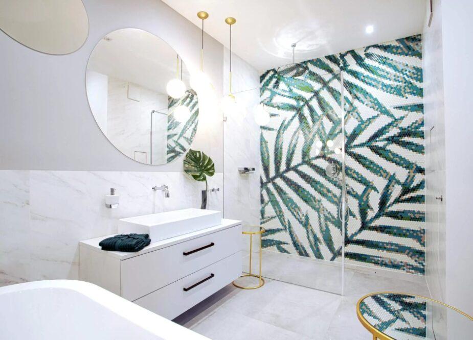 цвета плитки для ванной