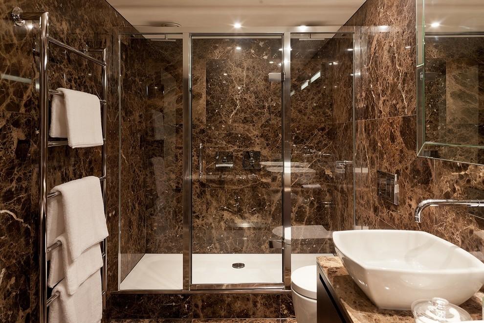 светло коричневая ванная