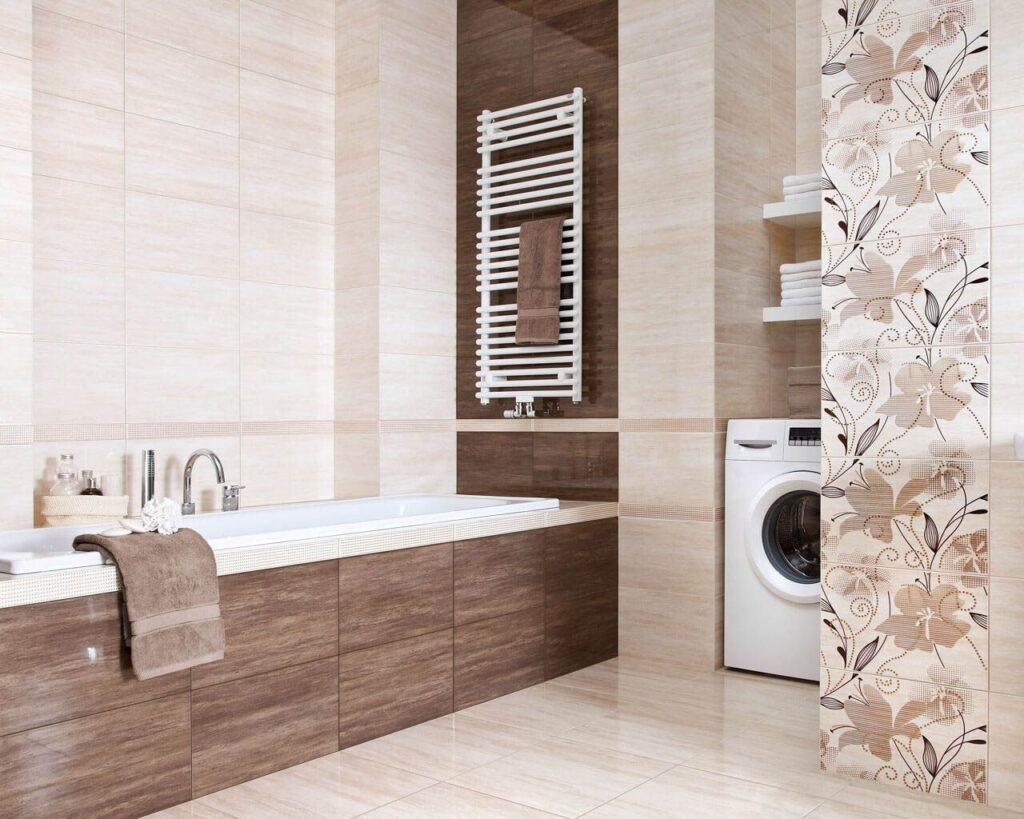 ванная коричневый мрамор