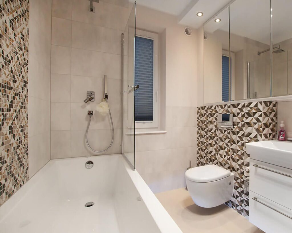 фото современной плитки в ванной