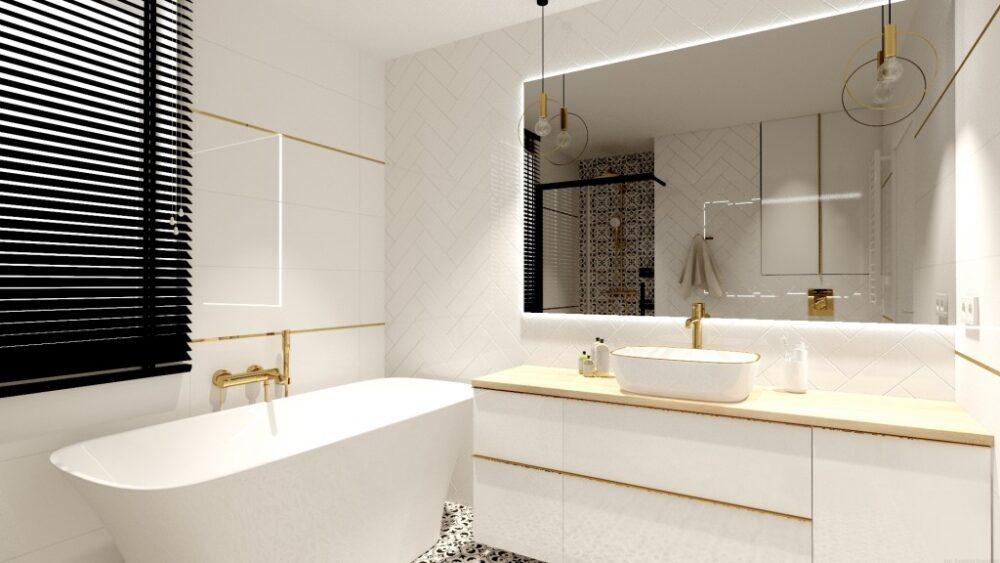 белая мебель для ванной