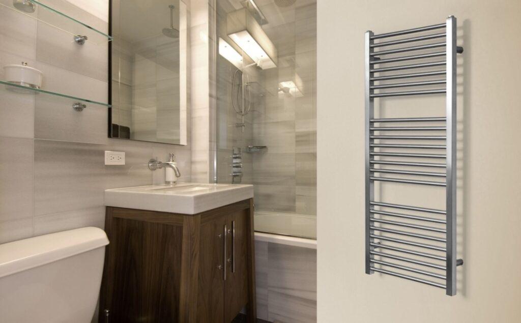 радиатор в ванной