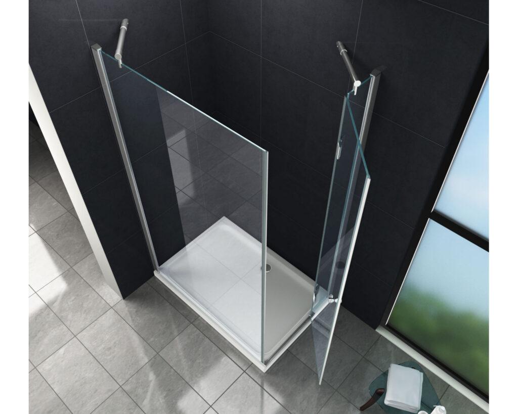душ без двери