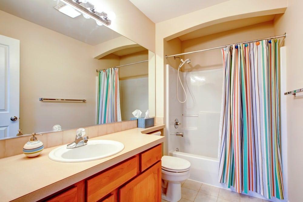 занавеска для ванны